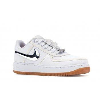 Zapatos Zapatillas bajas Nike Air Force 1 Low Travis Scott White White/White-White
