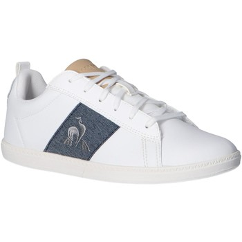 Zapatos Niños Multideporte Le Coq Sportif 2110077 COURTCLASSIC GS Blanco