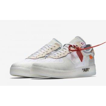 Zapatos Zapatillas bajas Nike Air Force 1 Low x Off-White OG White White/White-Sail