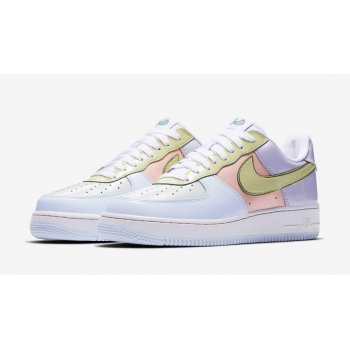 Zapatos Zapatillas bajas Nike Air Force 1 Low Easter Titanium/Lime Ice-Storm Pink