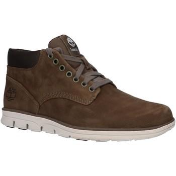 Zapatos Hombre Botas de caña baja Timberland A2E6A BRADSTREET Verde
