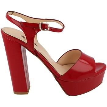 Zapatos Mujer Sandalias L'amour 920 ROSSA Rojo