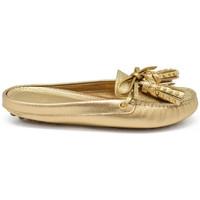 Zapatos Niños Mocasín Car Shoe  Oro