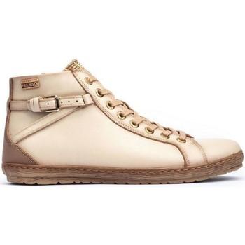 Zapatos Mujer Botas de caña baja Pikolinos ES  LAGOS 901-7312C4 MARFIL