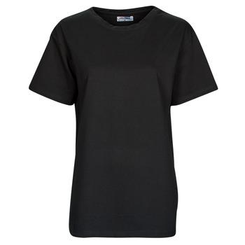 textil Mujer Camisetas manga corta Yurban OKIME Negro