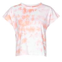 textil Mujer Camisetas manga corta Yurban ONILA Blanco / Rosa