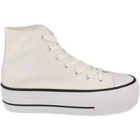 Zapatos Mujer Zapatillas altas Tony.p ABX012 Blanco