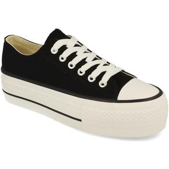 Zapatos Mujer Zapatillas bajas Tony.p ABX026 Negro