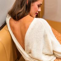 textil Mujer Jerséis Céleste COMETE Crudo
