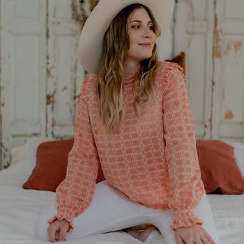 textil Mujer Tops / Blusas Céleste HIRONDELLE Rosa