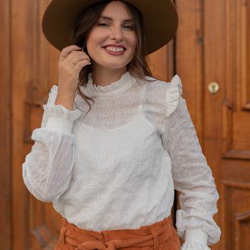 textil Mujer Tops / Blusas Céleste HIRONDELLE Blanco