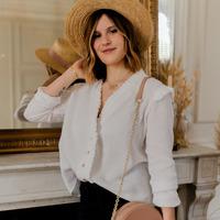 textil Mujer Tops / Blusas Céleste ZEPHYR Blanco