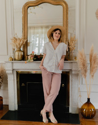textil Mujer Tops / Blusas Céleste MESANGE Blanco