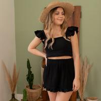textil Mujer Shorts / Bermudas Céleste MAGNOLIA Negro