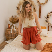 textil Mujer Shorts / Bermudas Céleste MAGNOLIA Terracota