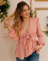 textil Mujer Tops / Blusas Céleste ROSSIGNOL Rosa