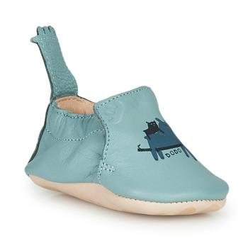 Zapatos Niños Pantuflas Easy Peasy BLUMOO Suave / Mist-impr / Oso / Suave / Cuero