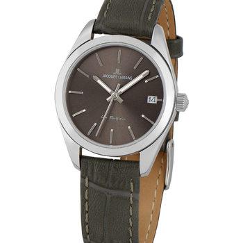 Relojes & Joyas Mujer Reloj Jacques Lemans 1-2084A, Quartz, 30mm, 10ATM Plata