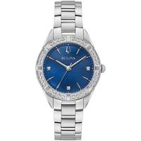 Relojes & Joyas Mujer Relojes analógicos Bulova 96R243, Quartz, 32mm, 3ATM Plata