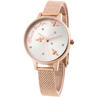 Relojes & Joyas Mujer Relojes analógicos Olivia Burton OB16PQ04, Quartz, 34mm, 1ATM Oro