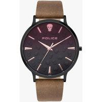 Relojes & Joyas Hombre Relojes analógicos Police PL16023JSB.02, Quartz, 42mm, 3ATM Negro