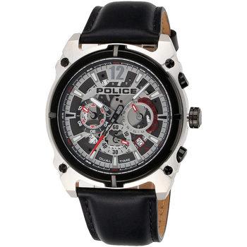 Relojes & Joyas Hombre Relojes analógicos Police PL16020JSTB.04, Quartz, 46mm, 5ATM Plata