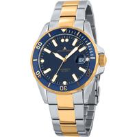 Relojes & Joyas Hombre Relojes analógicos Jacques Lemans 1-2014F, Automatic, 42mm, 20ATM Plata