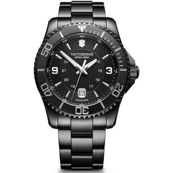 Relojes & Joyas Hombre Relojes analógicos Victorinox 241798, Quartz, 43mm, 10ATM Negro