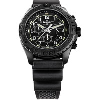 Relojes & Joyas Hombre Relojes analógicos Traser H3 108679, Quartz, 44mm, 20ATM Negro