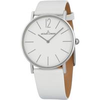 Relojes & Joyas Hombre Relojes analógicos Jacques Lemans 1-2030B, Quartz, 40mm, 5ATM Plata