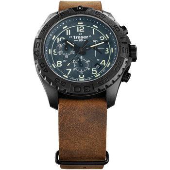 Relojes & Joyas Hombre Relojes analógicos Traser H3 109049, Quartz, 44mm, 20ATM Negro