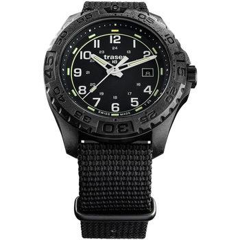 Relojes & Joyas Hombre Relojes analógicos Traser H3 108673, Quartz, 44mm, 20ATM Negro