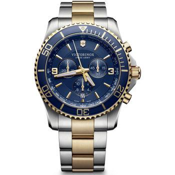 Relojes & Joyas Hombre Relojes analógicos Victorinox 241791, Quartz, 43mm, 10ATM Plata