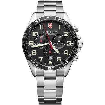 Relojes & Joyas Hombre Relojes analógicos Victorinox 241855, Quartz, 42mm, 10ATM Plata