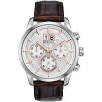 Relojes & Joyas Hombre Relojes analógicos Bulova 96B309, Quartz, 44mm, 3ATM Plata