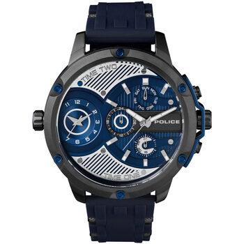 Relojes & Joyas Hombre Relojes analógicos Police PL15049JSU.03P, Quartz, 51mm, 5ATM Negro
