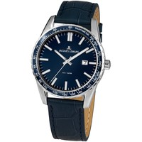 Relojes & Joyas Hombre Relojes analógicos Jacques Lemans 1-2022D, Quartz, 44mm, 10ATM Plata