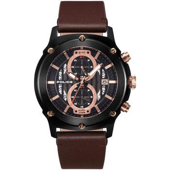 Relojes & Joyas Hombre Relojes analógicos Police PL15917JSB.02A, Quartz, 47mm, 5ATM Negro
