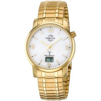 Relojes & Joyas Hombre Relojes analógicos Master Time MTGA-10312-12M, Quartz, 41mm, 3ATM Oro