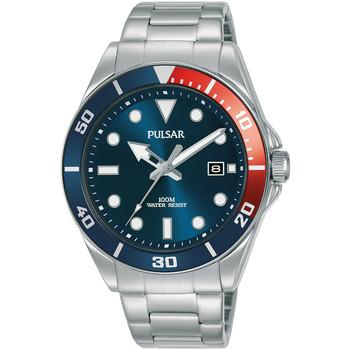 Relojes & Joyas Hombre Relojes analógicos Pulsar PG8291X1, Quartz, 40mm, 10ATM Plata