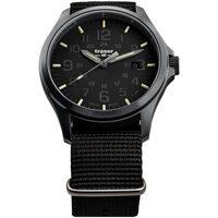 Relojes & Joyas Hombre Relojes analógicos Traser H3 108744, Quartz, 44mm, 20ATM Negro