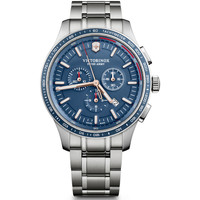 Relojes & Joyas Hombre Relojes analógicos Victorinox 241817, Quartz, 44mm, 10ATM Plata