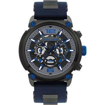 Relojes & Joyas Hombre Relojes analógicos Police PL14378JSU.13P, Quartz, 50mm, 5ATM Gris