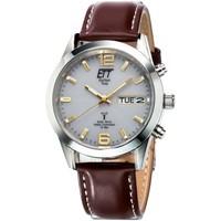 Relojes & Joyas Hombre Relojes analógicos Ett Eco Tech Time EGS-11248-12L, Quartz, 40mm, 10ATM Plata