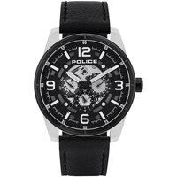 Relojes & Joyas Hombre Relojes analógicos Police PL15663JSTB.02, Quartz, 48mm, 3ATM Plata