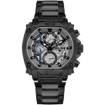 Relojes & Joyas Hombre Relojes analógicos Police PL15472JSB.13M, Quartz, 45mm, 3ATM Negro
