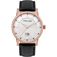 Relojes & Joyas Hombre Relojes analógicos Police PL15404JSR.04, Quartz, 46mm, 5ATM Oro