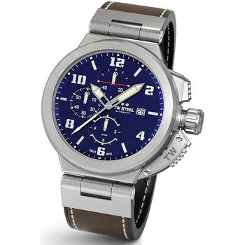 Relojes & Joyas Hombre Relojes analógicos Tw-Steel ACE203, Automatic, 46mm, 10ATM Plata