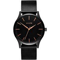 Relojes & Joyas Hombre Relojes analógicos Mvmt MT01-BBRG, Quartz, 40mm, 3ATM Negro