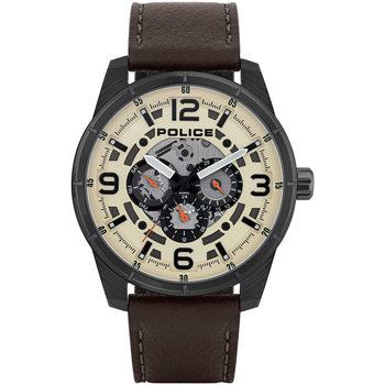Relojes & Joyas Hombre Relojes analógicos Police PL15663JSU.14, Quartz, 48mm, 3ATM Negro